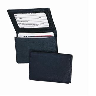 Personalized Royce Leather Business Card Holder